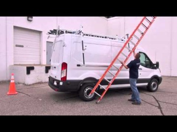 Prime Design's Ergorack- The Drop Down Ladder Rack for the Ford Transit