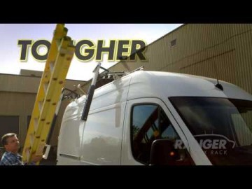 Ranger Max Rack Drop Down Ladder Rack For Vans